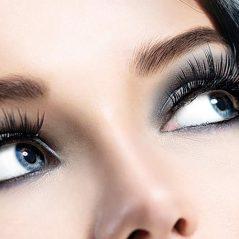مراحل انجام آرایش تیره چشم ها
