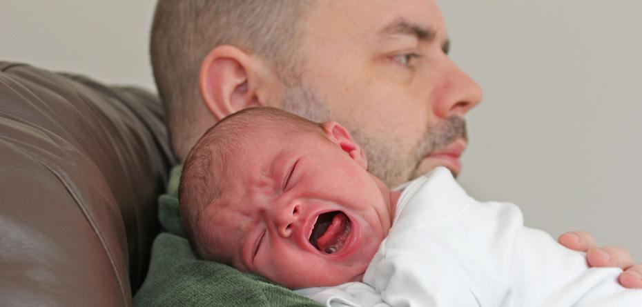 دلایل افسردگی پدران بعد زایمان !!