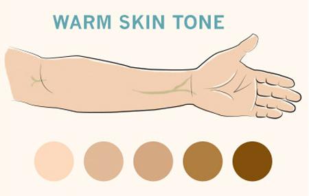 روش انتخاب جواهر برحسب رنگ پوست