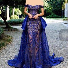برترین نمونه لباس های مجلسی آبی