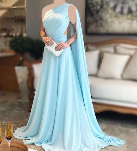برترین مدل لباس های مجلسی آبی