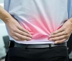sciaticpain 1 239x202 - چطور در منزل درد سیاتیک را تسکین دهیم ؟